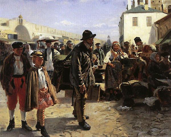 Маковский Владимир Егорович - Шарманщик. 1879