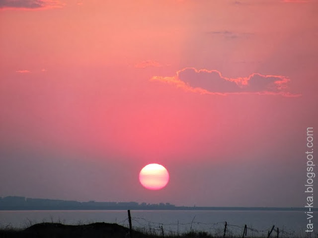 Auringonlasku Kazantpe