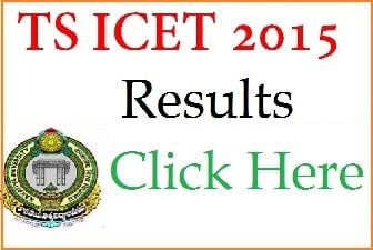 Manabadi TS ICET Results 2016