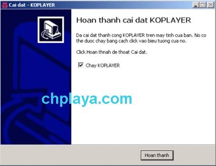 Hướng dẫn cài đặt giả lập KOPlayer trên máy tính 6