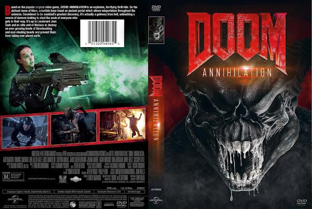 Doom Annihilation DVD Cover