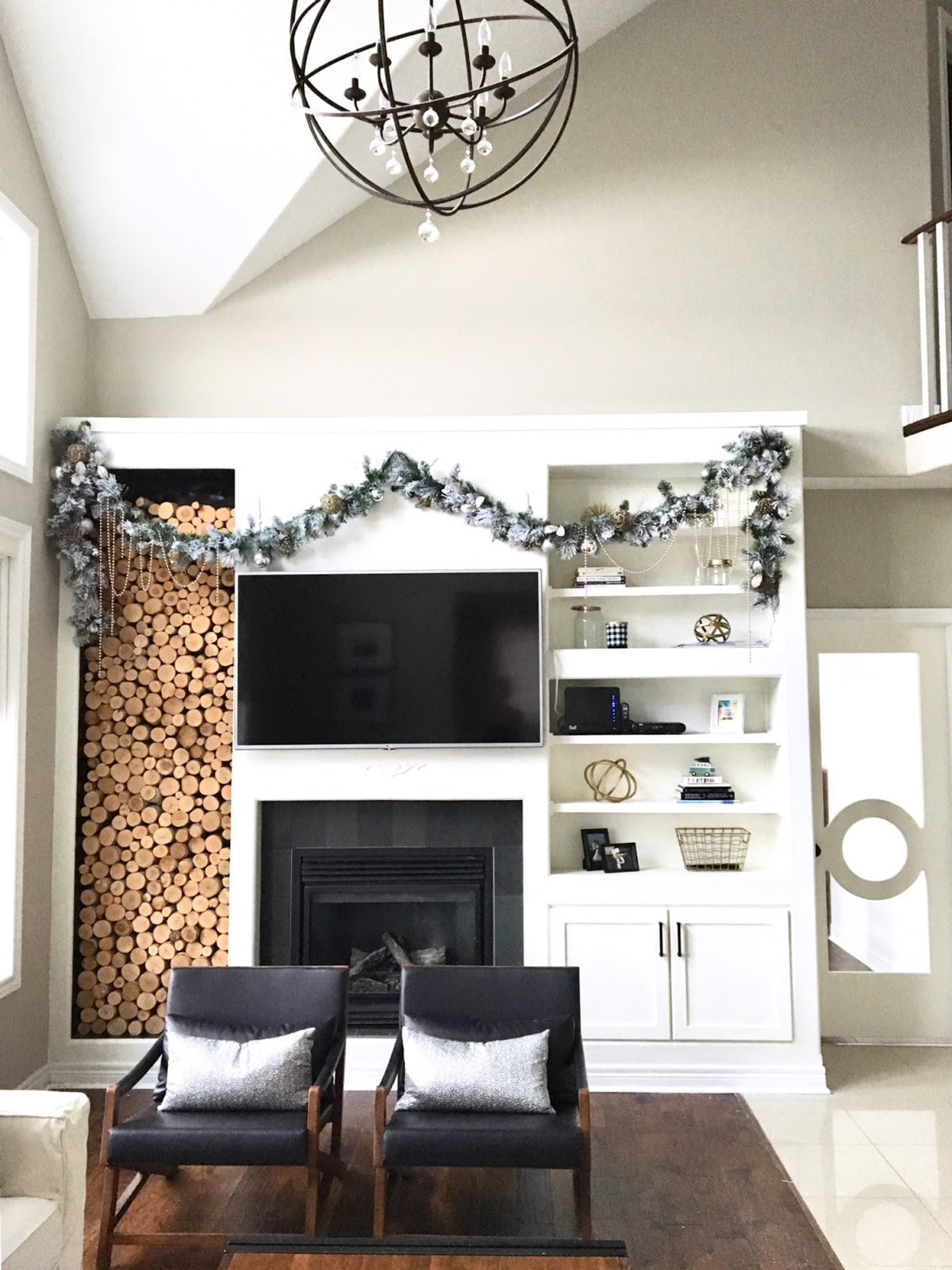 Modern Holiday Home: Holiday Decorating Ideas | Harlow & Thistle ...