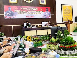 Motivasi Satgas Madago Raya, Panglima TNI dan Kapolri Pastikan Negara Tak Boleh Kalah dari Teroris