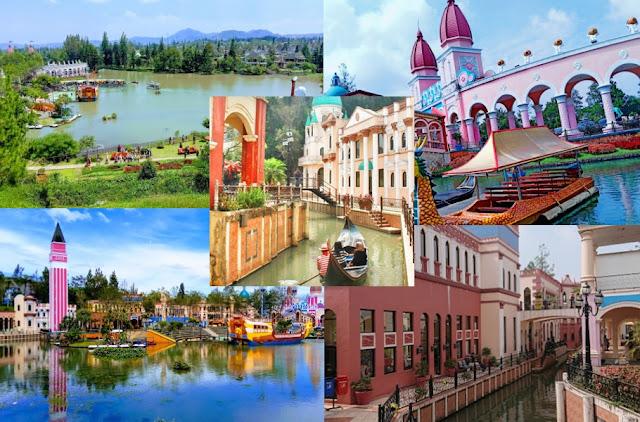 Litte venice kota bunga_Tempat wisata di bogor hits