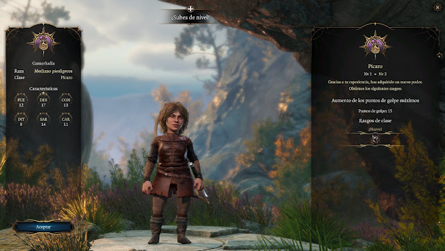 Avance Baldur's Gate 3 - Creación de Personaje