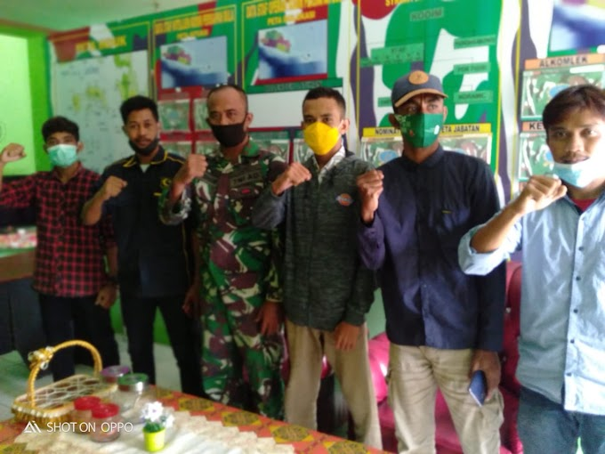 Jalin Silaturrahmi PD GPI SBT Berkunjung Ke Markas Komando KODIM Persiapan Seram Bagian Timur