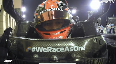 in Lewis Hamilton's absence