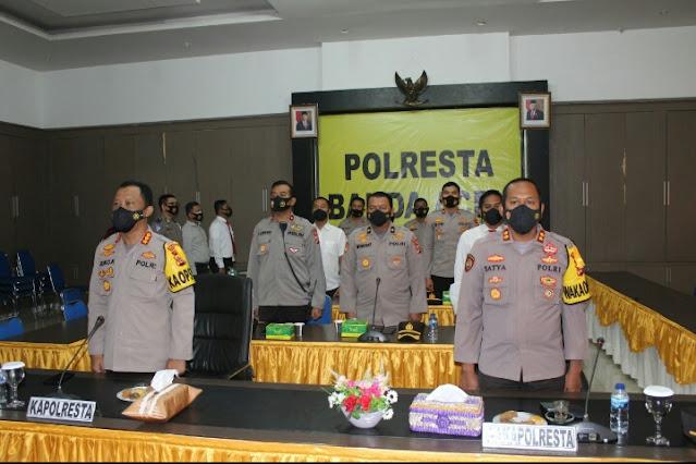 Polresta Banda Aceh Berhasil Raih Penghargaan Pelayanan Publik yang Kedua  Dari Menpan RB RI