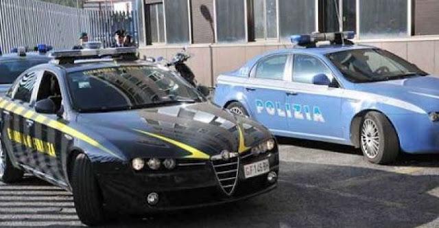 Napoli. Operazione congiunta Polizia e Guardia di Finanza. Sequestrati 1.675 kg di marijuana. Arrestato un  calabrese
