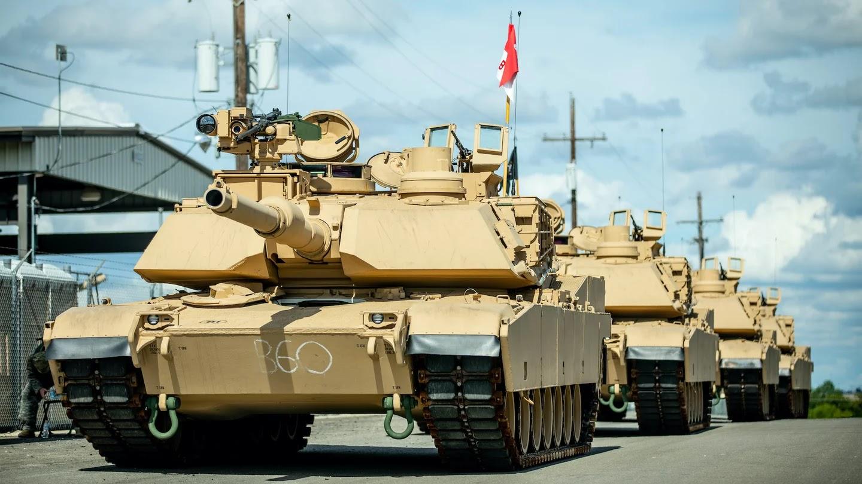 """دبابة إم1 أبرامز """"أبرامز M-1"""" - أسلحة الجيش الأمريكي - ميزانية الجيش الأمريكي 2021"""