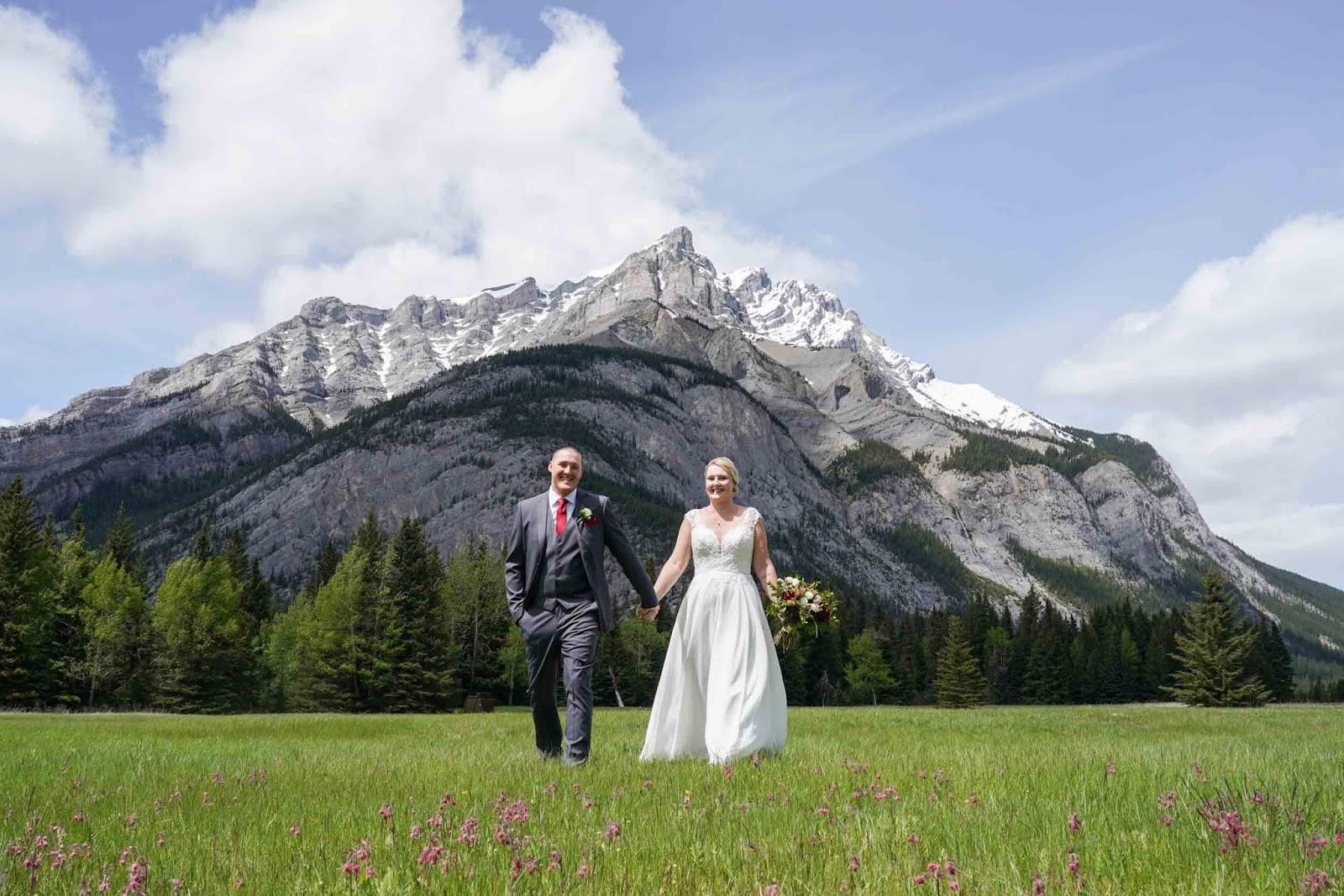 Summer Elopement in Banff
