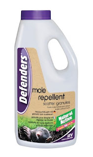 Best enviromentally friendly mole repellent granules for lawns and gardens