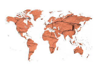 TYPES OF SOIL POLLUTION (মাটি দূষণের ধরন),SOIL POLLUTION,WORLD MAP,CRACK