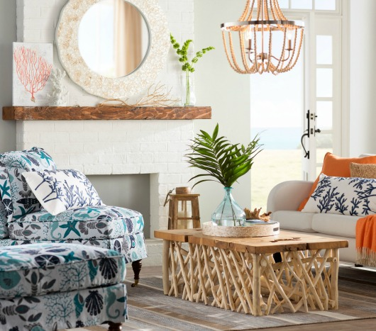 Coastal Upholstered Chairs From Wayfair Coastal Decor Ideas And Interior Design Inspiration Images