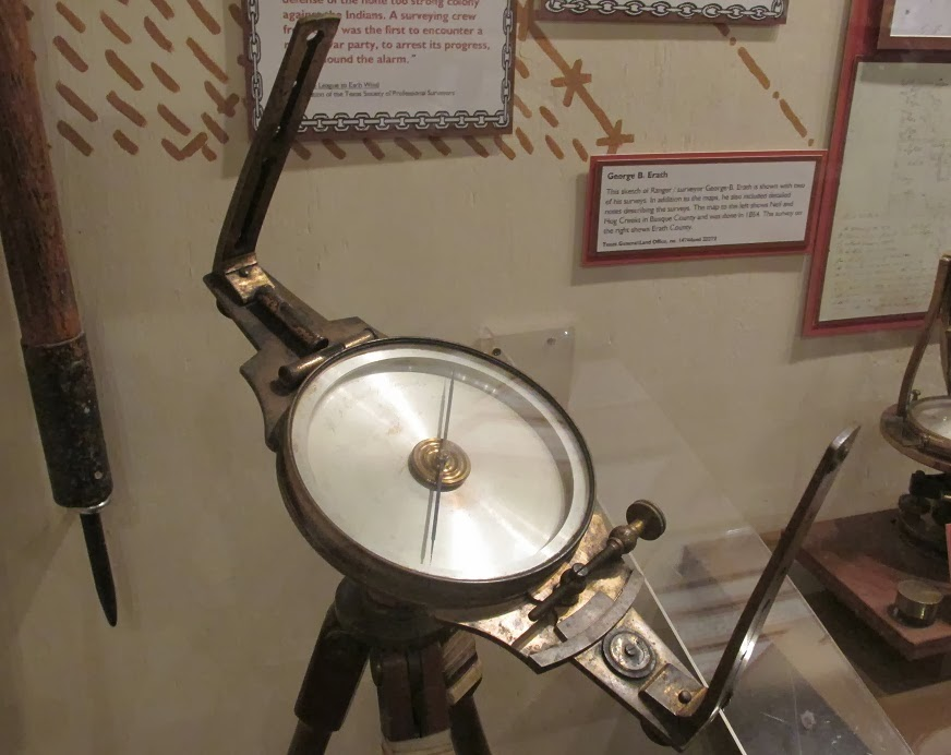vernier railroad compass