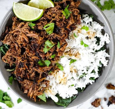 BEEF BARBACOA (PALEO, WHOLE30 + KETO) SLOW COOKER OR INSTANT POT #healhty #diet