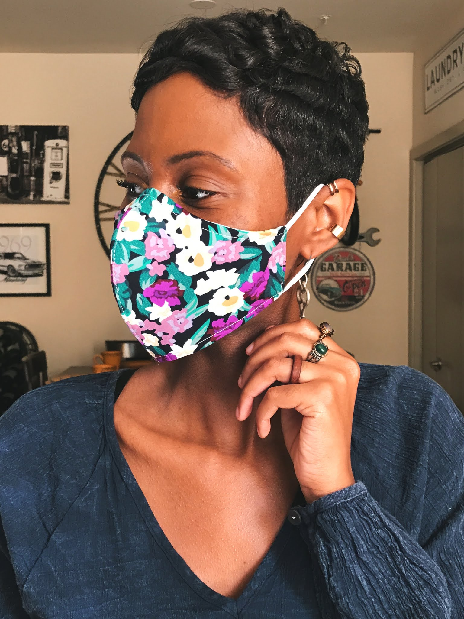 Reversible Floral Face Masks That Make You Feel Stylish And Fierce