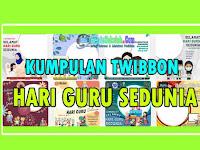 Twibbon Selamat Hari Guru Sedunia 5 Oktober 2021
