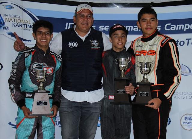 La victoria de la carrera de FIA México Reto Telmex en Valle fue para Noel León de Monterrey