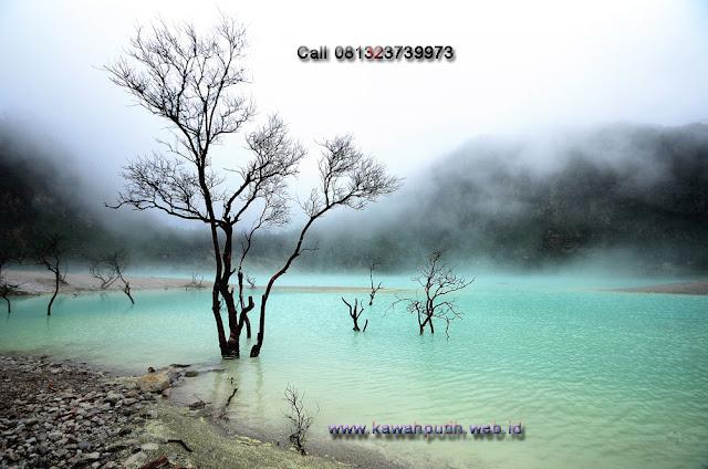 Kawah putih hot spring