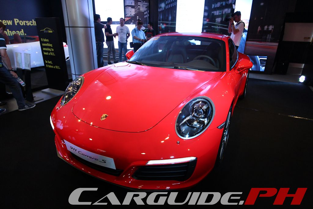 porsche philippines unveils new 911 carrera and carrera s philippine car news car reviews. Black Bedroom Furniture Sets. Home Design Ideas