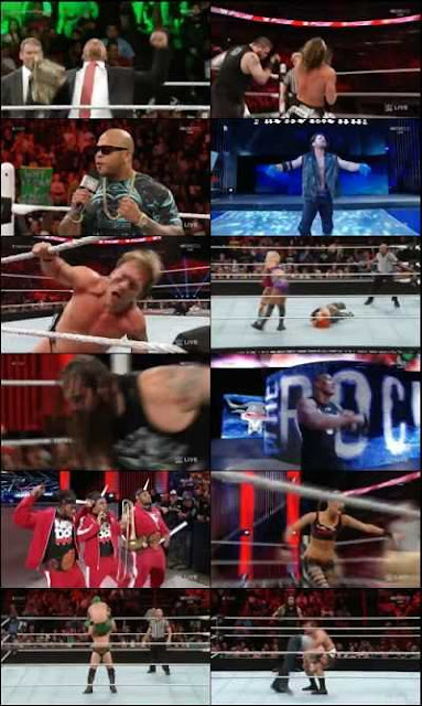 WWE RAW 2016 01 25 HDTV Download 300mb