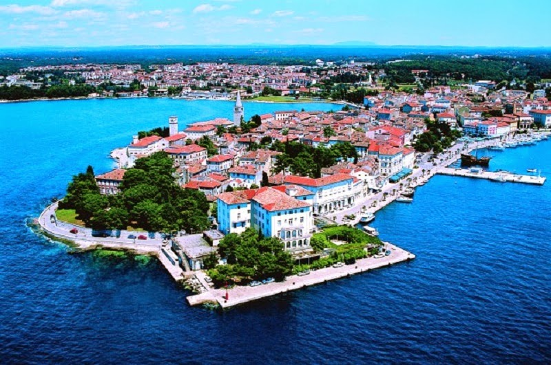 Porec in Istrien fur  Kroatien Urlaub