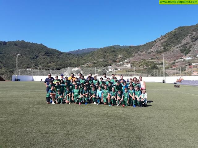 Presentación Escuela de Fútbol La Unión Temporada 2019/2020 en Puntallana