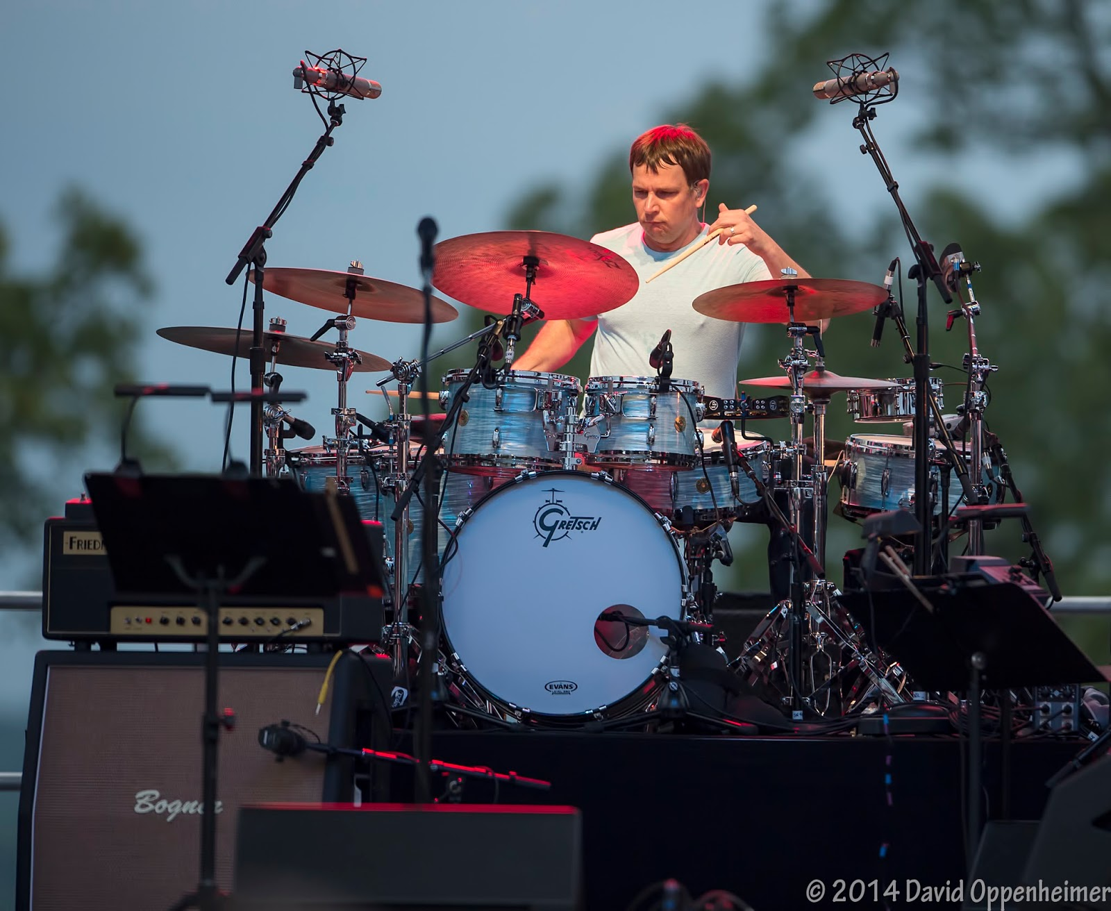 Keith Carlock with Steely Dan