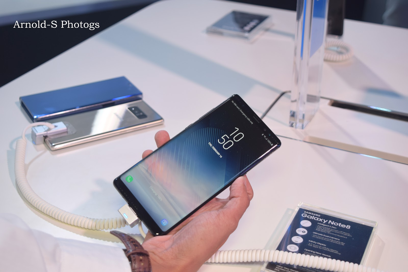 Samsung Galaxy NOTE8 Officially Unveiled In The Philippines