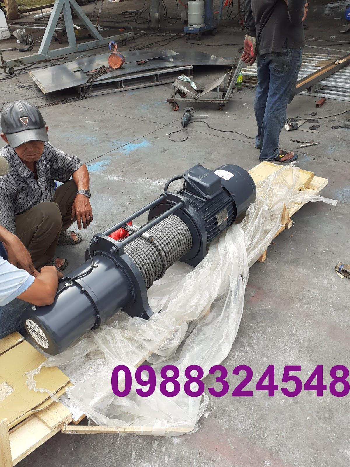 Tời cáp điện Duke  DU-2k 2000kg