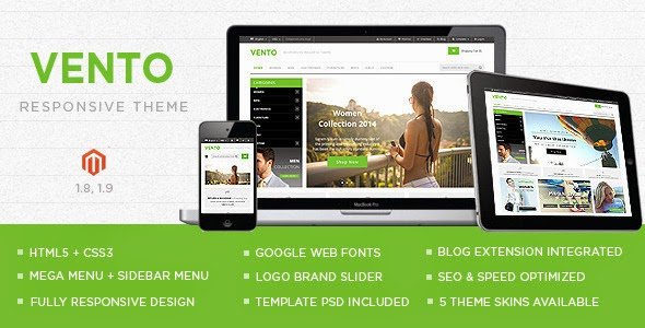 Best Responsive Multipurpose Magento theme