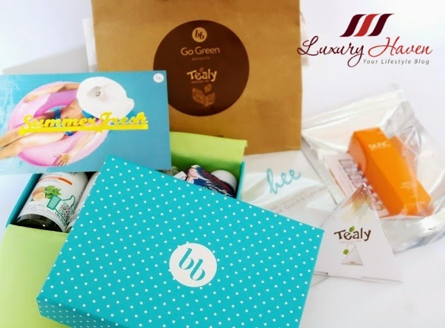 luxury haven reviews august bellabox summer fresh