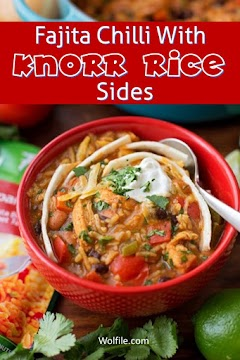 Fajita Chili With Knorr Rice Sides Recipe