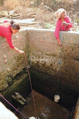 Nepal Bungamatiの井戸