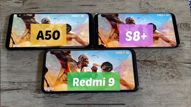 Xiaomi Redmi 9 vs Galaxy a50 vs Galaxy s8 plus