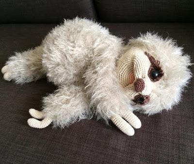 Вязаный ленивец