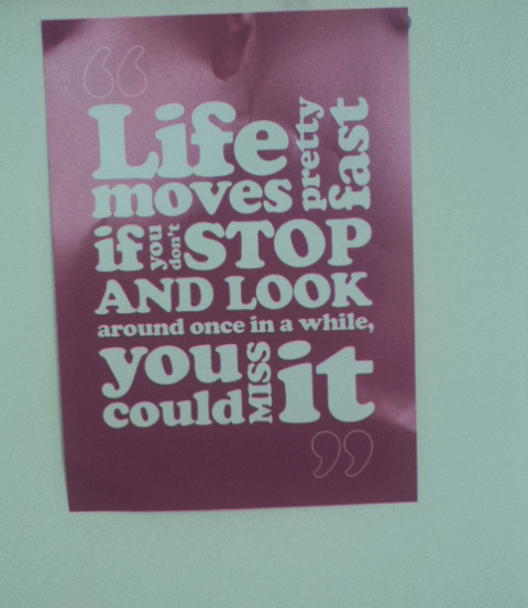 Inspirational Wall Quote from Chatterbox