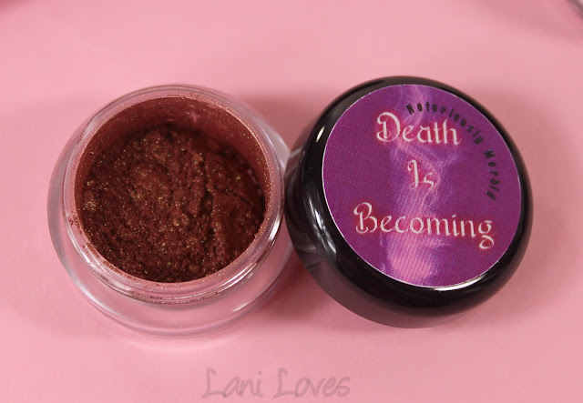 Notoriously Morbid Forever Young Eyeshadow Swatches & Review