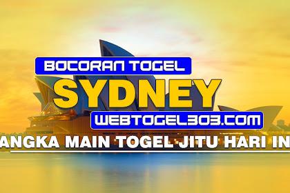 BOCORAN TOGEL JITU SYDNEY SELASA 08 DESEMBER 2020