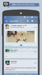 Download BBM iOS 6 V3 - BBM v3.3.2.31