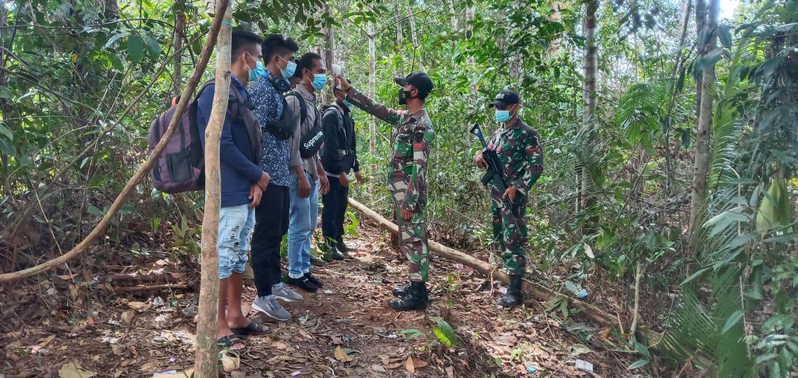 Lagi, TNI Amankan 17 PMI Pelintas Batas Secara Ilegal