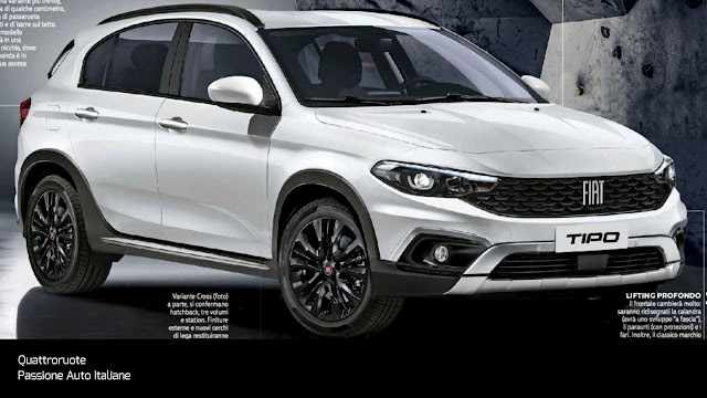 Nuova Fiat Tipo My 2021