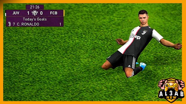 تحميل لعبة eFootball PES 2020 بيس 20 PES اون لاين للاندرويد بحجم صغير من المديا فاير