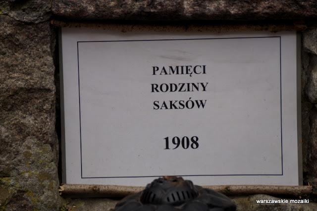 Warszawa Warsaw Anin Międzylesie Wawer warszawskie kapliczki w lesie Saks informacja