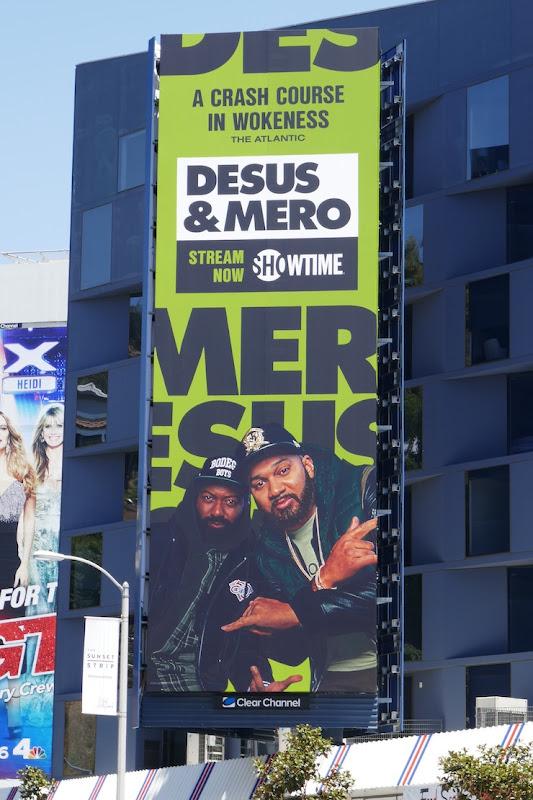Desus Mero season 2 Showtime billboard