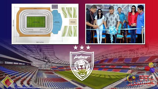Pembinaan stadium baharu JDT bakal bermula selepas Tahun Baru Cina.  ISKANDAR PUTERI  Pembinaan stadium baharu bagi kelab bola sepak Johor Darul  Ta zim (JDT) ... 163239bca0