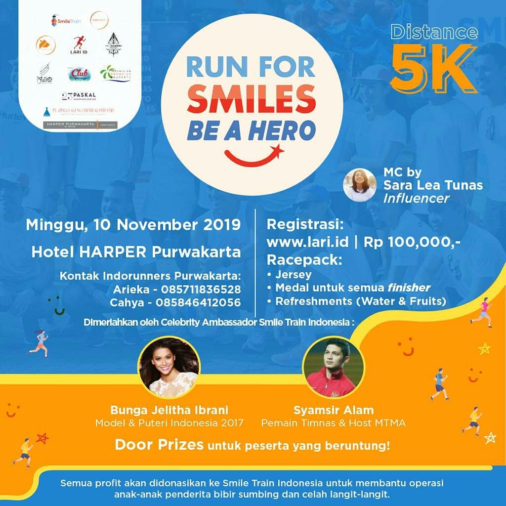 Run For Smiles, Be A Hero • 2019