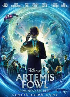 Artemis Fowl: O Mundo Secreto - HDRip Dual Áudio