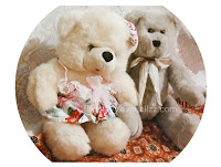 Cute animal stuffed, teddy bears